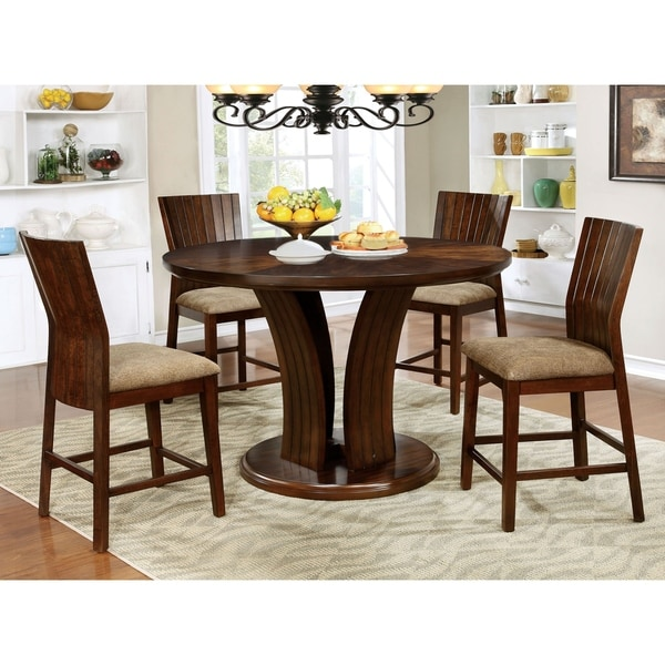 Copper Grove Pliska 5-piece Counter Height Table Set