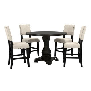 Link to The Gray Barn Orchard Slope 5-piece Round Counter Height Table Set Similar Items in Dining Room & Bar Furniture