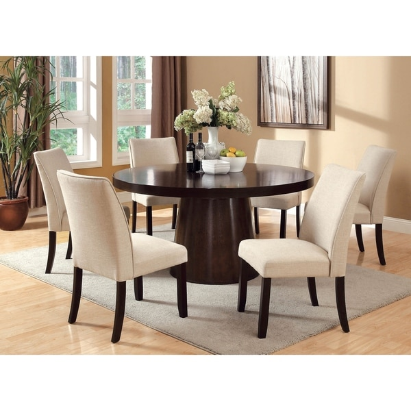 Dining Table Sets On Sale: Shop Furniture Of America Charlotte 7-Piece Dining Table