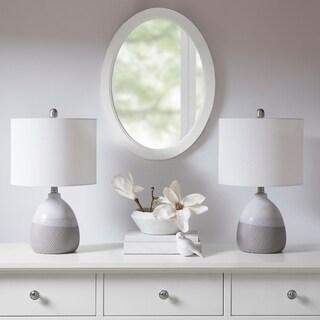 "510 Design Driggs Grey Table Lamp - 12""l x 12""d x 20.5""h"