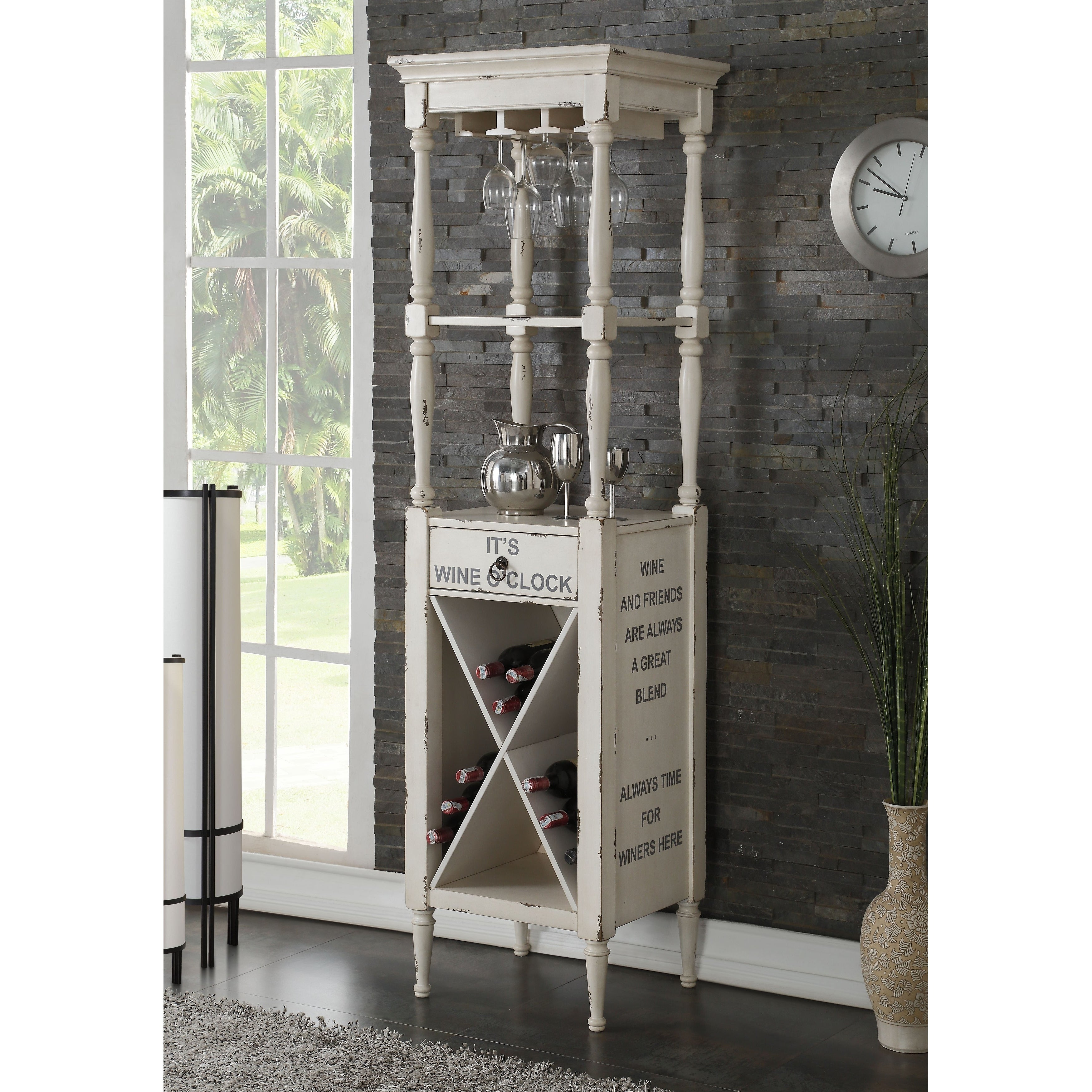 Wooden Wine Cabinet With Ious