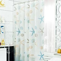 Bathroom Shower Curtains Waterproof 180 cm x 200 cm Tulle Curtains