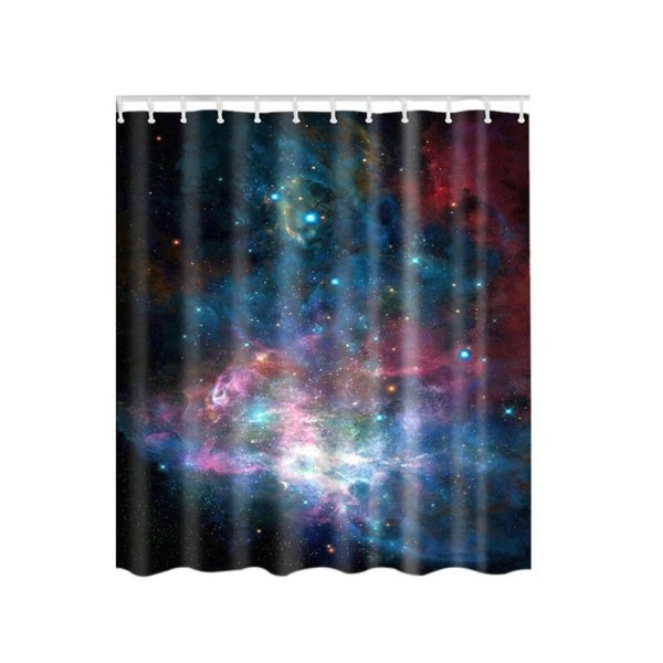 Shower Curtain Sky Surf Waves Polyester Bathroom Set With Hooks