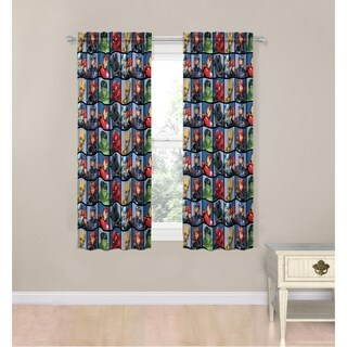 "Marvel Avengers Marvel Team 63"" Decorative Curtain Set"