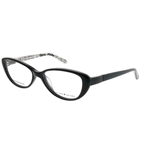 Kate Spade Cat-Eye Finley W08 Women Black Frame Eyeglasses
