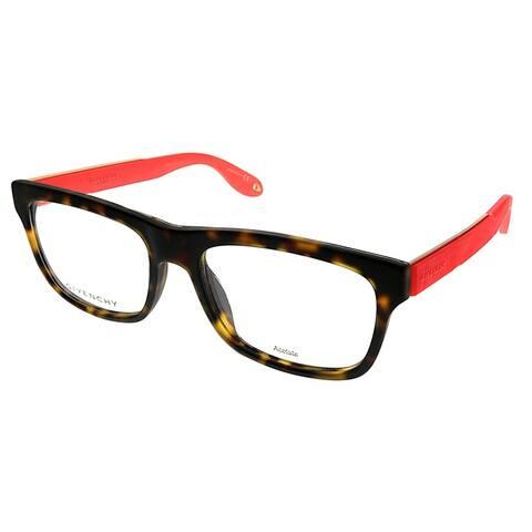 Givenchy Rectangle GV 0018 WT1 Unisex Tortoise Pink Frame Eyeglasses