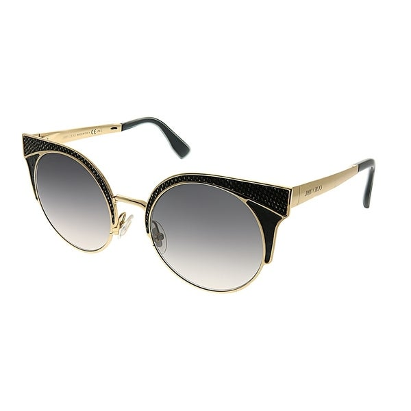ad6fd0694de Jimmy Choo Cat-Eye Ora PSU Women Rose Gold Frame Grey Gradient Lens  Sunglasses