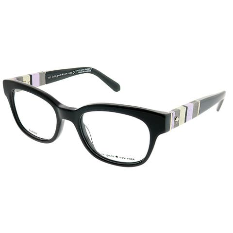 efb42a6741 Kate Spade Rectangle Andra W91 Women Black Frame Eyeglasses