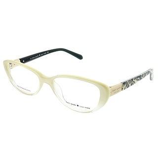 Kate Spade Cat-Eye Finley W12 Women Ivory Fade Frame Eyeglasses