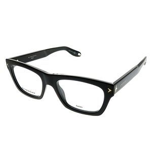 Givenchy Rectangle GV 0017 807 Unisex Black Frame Eyeglasses
