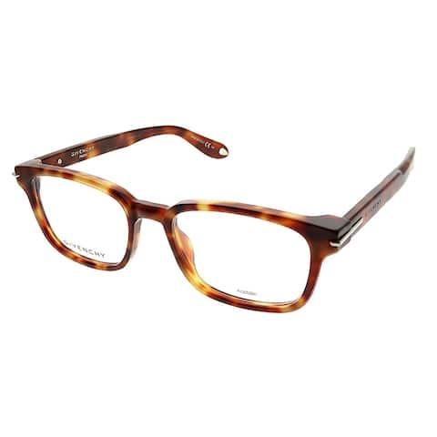 Givenchy Rectangle GV 0013 VMB Unisex Light Tortoise Frame Eyeglasses