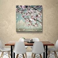 "ArtWall ""Cherry Blossom"" Gallery Wrapped Canvas"