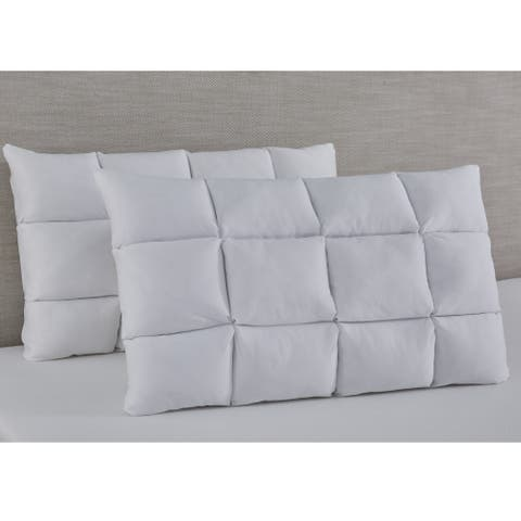 Slumber Solutions Reversible Puff with NRGel Memory Foam Pillow