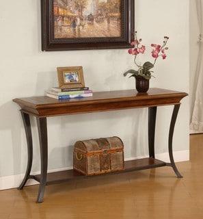 Checkerboard Inlay Sofa Table