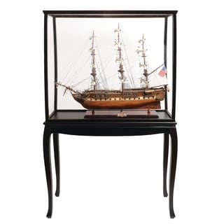 USS Constitution Large With Floor Display Case