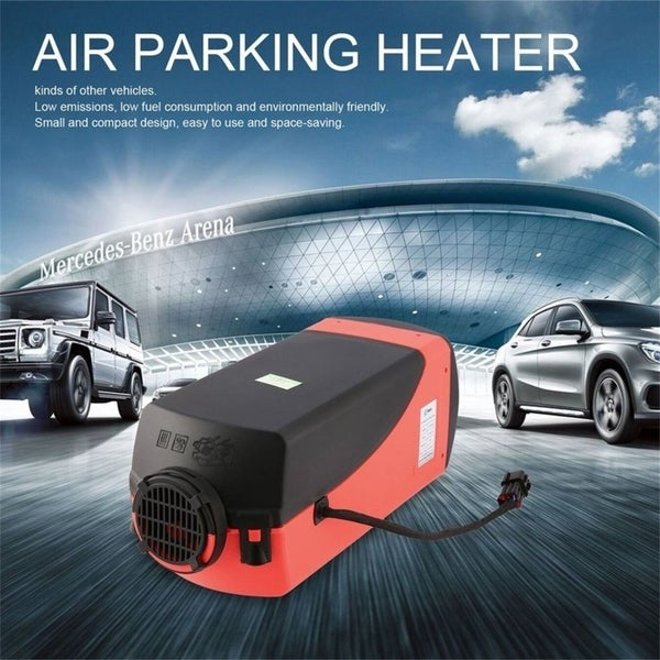 12V 3KW Air Heater Single-hole Switch with Muffler Universal For Tank Vent