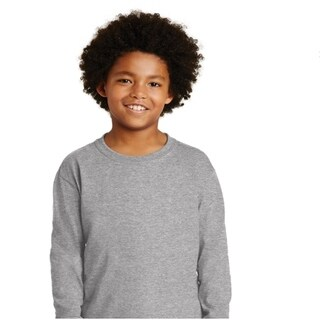 Gildan Boys Ultra Cotton Long Sleeve T-Shirt