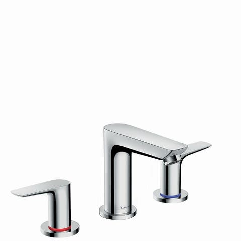 Hansgrohe Talis E Widespread Faucet 150 with Pop-Up Drain, 1.2 GPM Chrome