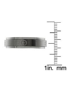 Men's Titanium Screwtop Spinner Ring - Thumbnail 2