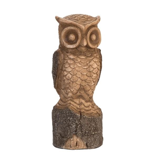 Carved Owl Large