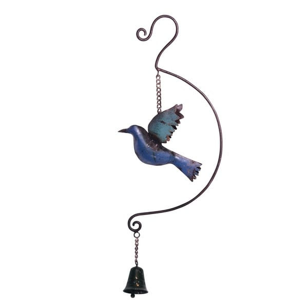 Recycled Garden Bell Bird