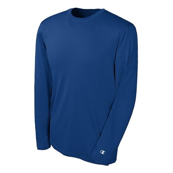 champion double dry long sleeve shirt