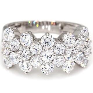 Bliss 10 White Gold 2.92 Ct. TDW Diamond Wedding Ring Womens Anniversary Band