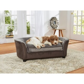 Enchanted Home Pet Panache Pet Sofa - Dark Grey
