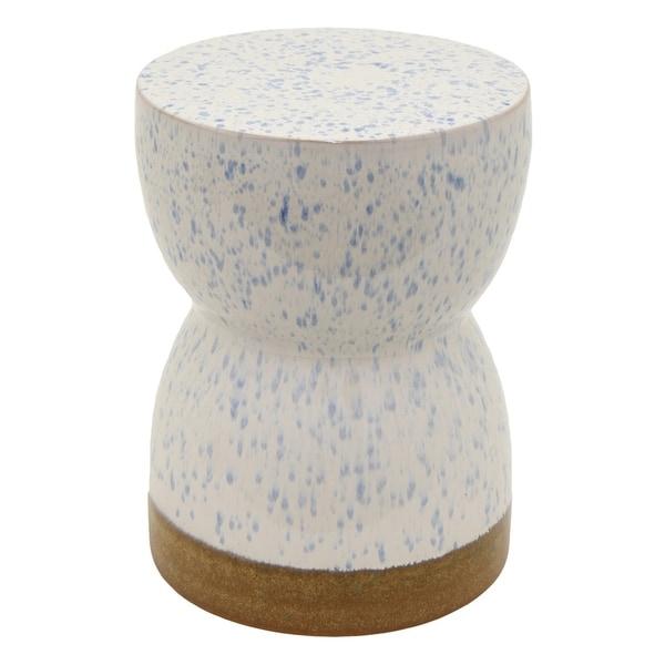 Three Hands Ceramic Garden Stool