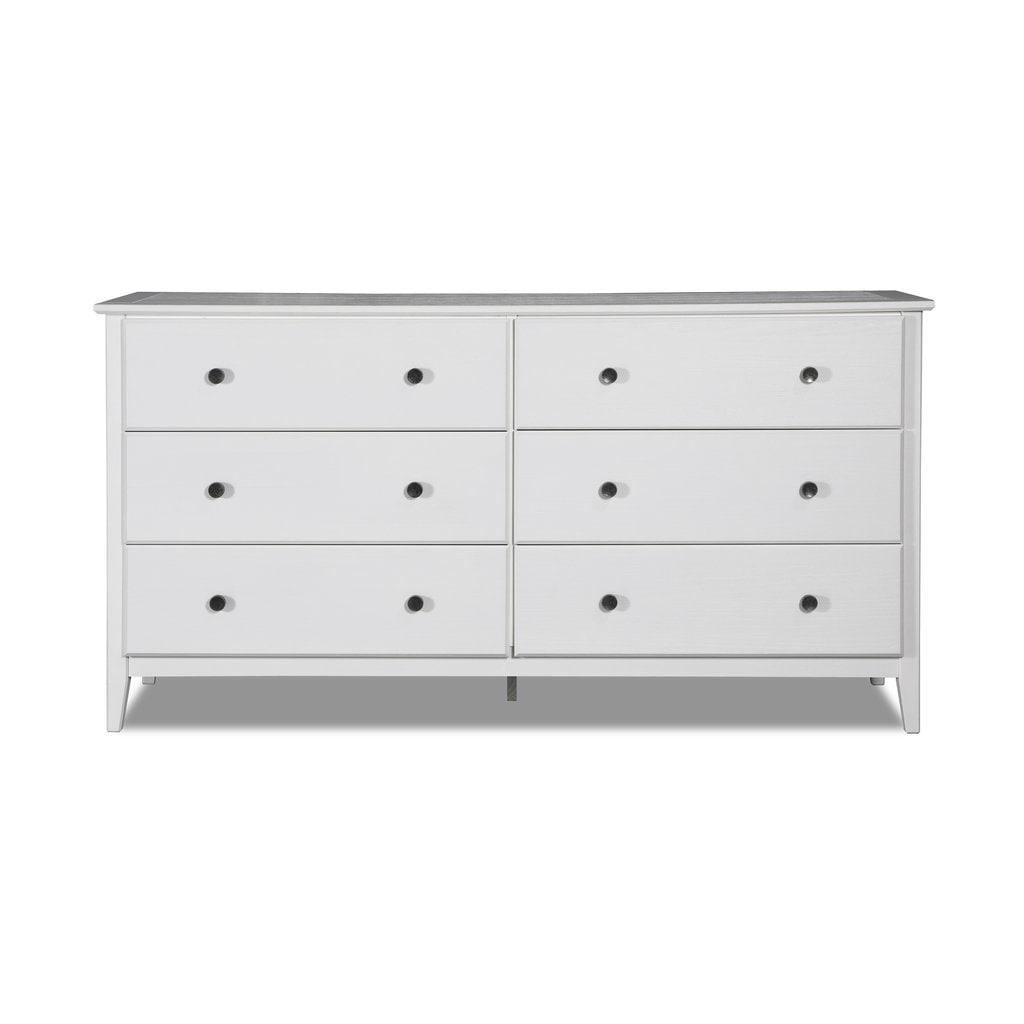 white drawers cheap