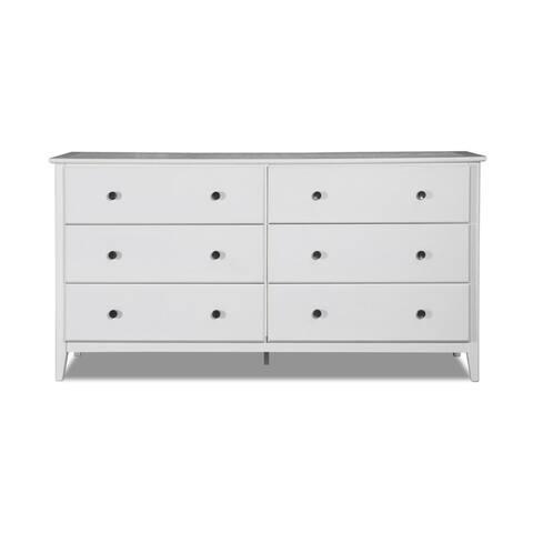 Grain Wood Furniture Greenport 6 Drawer dresser