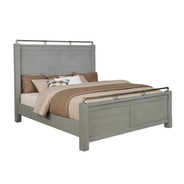 Bellville Queen Post Bed - Gray