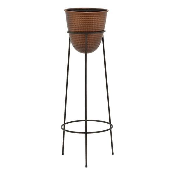 Three Hands Metal 39-inch Planter Stand