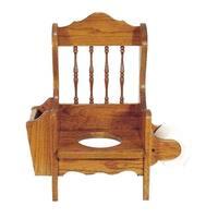 Oak Potty Training Chair - no lid