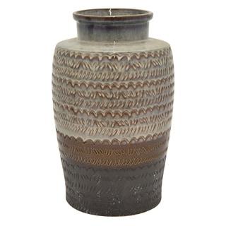 "18"" Ceramic Vase By Three Hands"