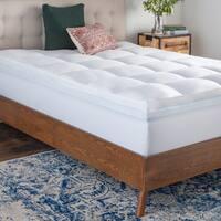 Brookside Pillow Top and 2-inch Gel Memory Foam Mattress Topper