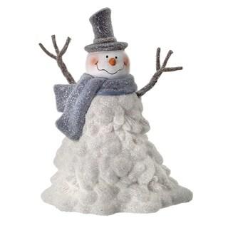 9.5 Inch Beaded Clumpy Snowman