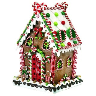 14 Inch Lighted LED candy house