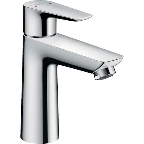 Hansgrohe Talis E Single-Hole Faucet 110 with Pop-Up Drain, 1.2 GPM Chrome