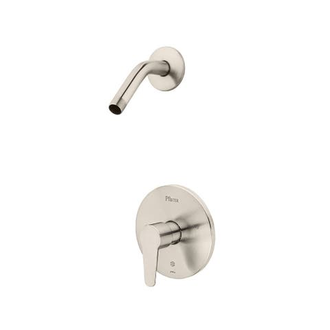 Pfister Pfirst Modern 1-Handle Shower, Trim Only Less Showerhead Brushed Nickel