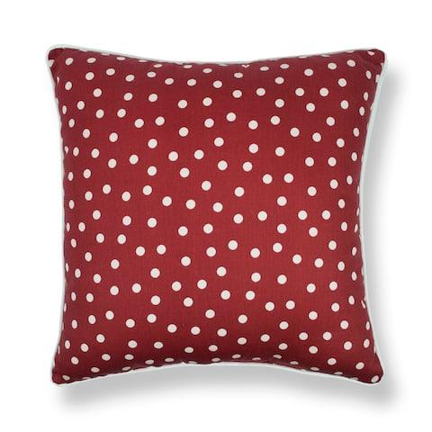 Sherry Kline Clementine Red 20-inch Decorative Throw Pillow