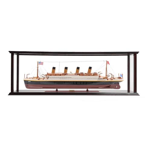 RMS Titanic Large with Display Case