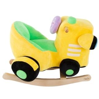Rocking Train Toy Plush Stuffed Ride by Happy Trails