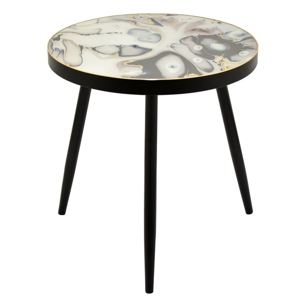 Three Hands 24-inch Wood Decorative Table