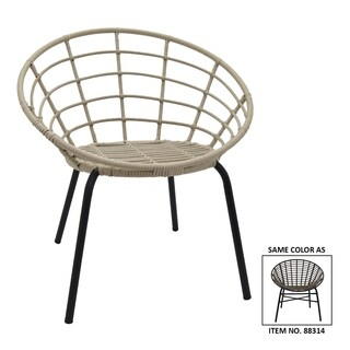 Three Hands Brown Metal Chair