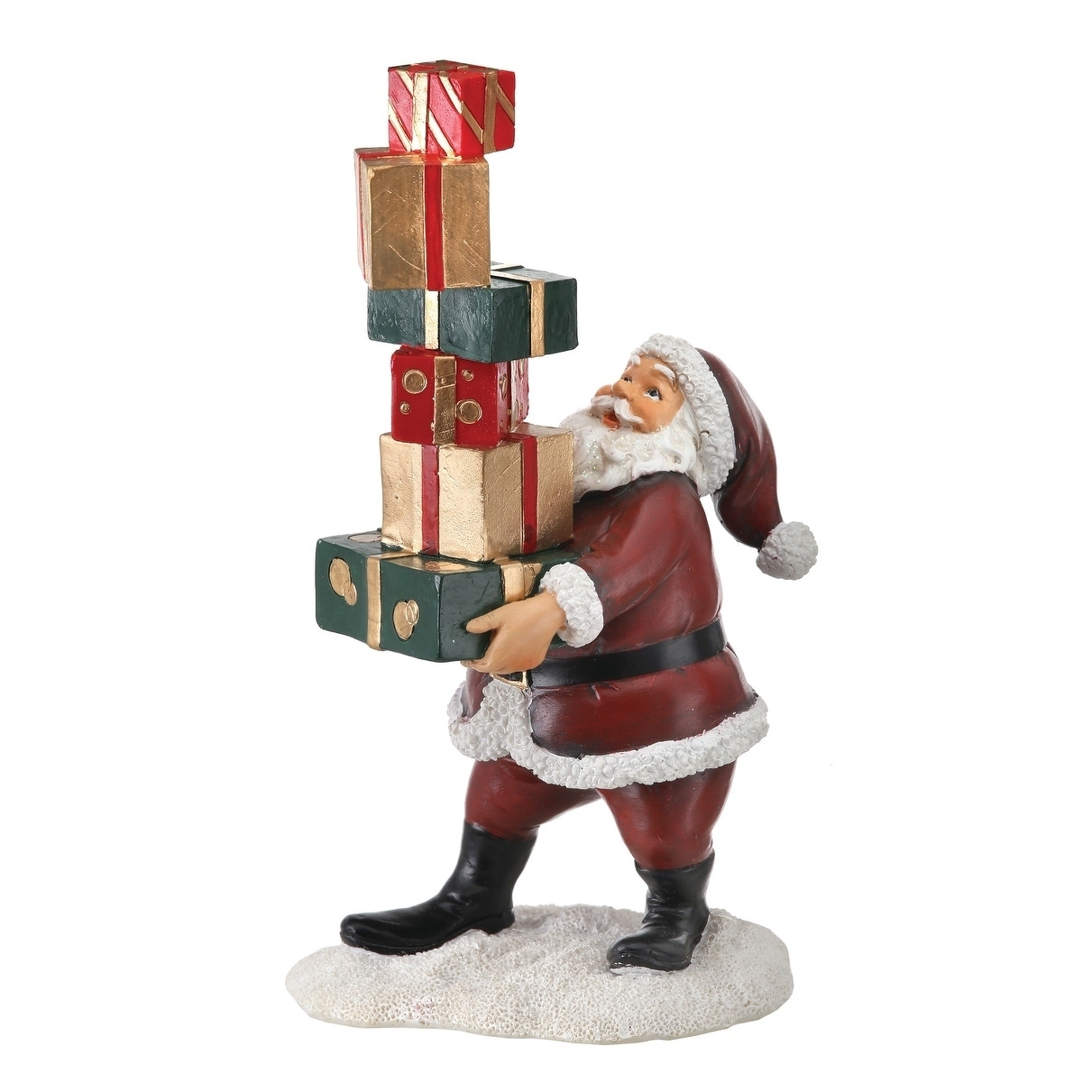 7 5 Inch Resin Santa Balancing Packages Overstock 25363901