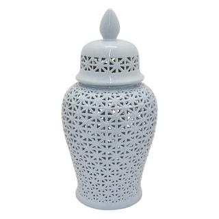 Three Hands 34-inch Pierced Jar