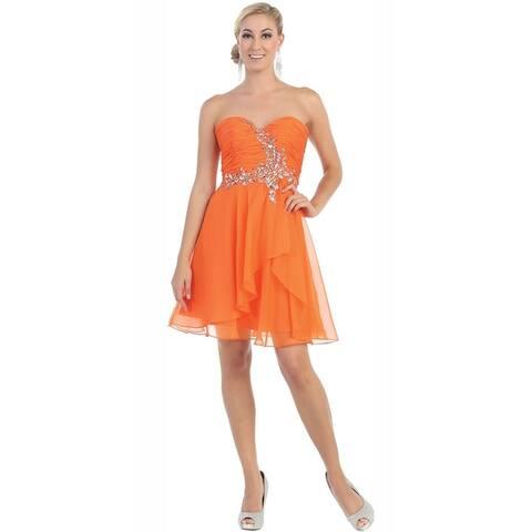 Semi Formal Chiffon Cocktail Dress