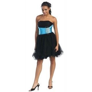 Strapless Short Party Dress