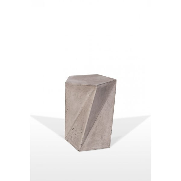 Modrest Fawn Modern Concrete Accent Table